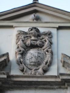 Palacio de los Marqueses de Cartagena Escudo nobiliario. Foto: Francisco López