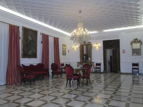 Carmen de los Mártires.Salón superior 1 del palacete. Granada. Foto: Francisco López
