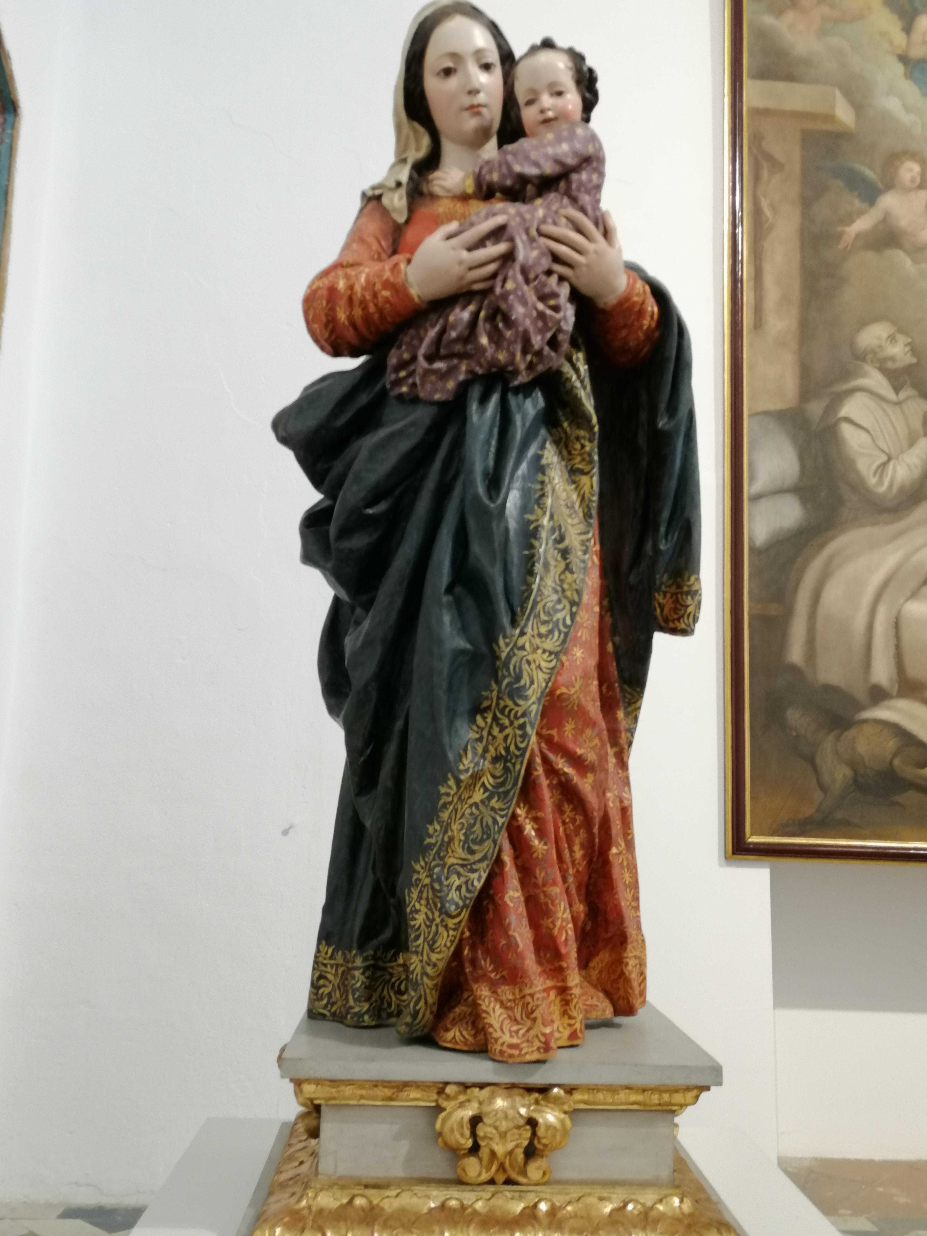 Virgen del Rosario. Cartuja Granada