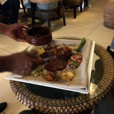 Traditional Food at Kategna Restaurant