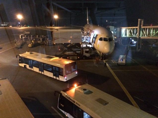 Heading to Rome on Ethiopia Air