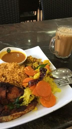 Indian bryani rice