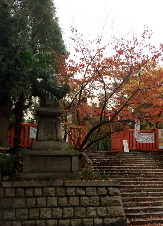 Osaka: Ikukunitama Shrine in its 436th Autumn