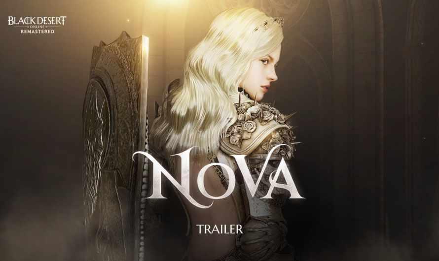 Black Desert Online : La nouvelle classe Nova est disponible