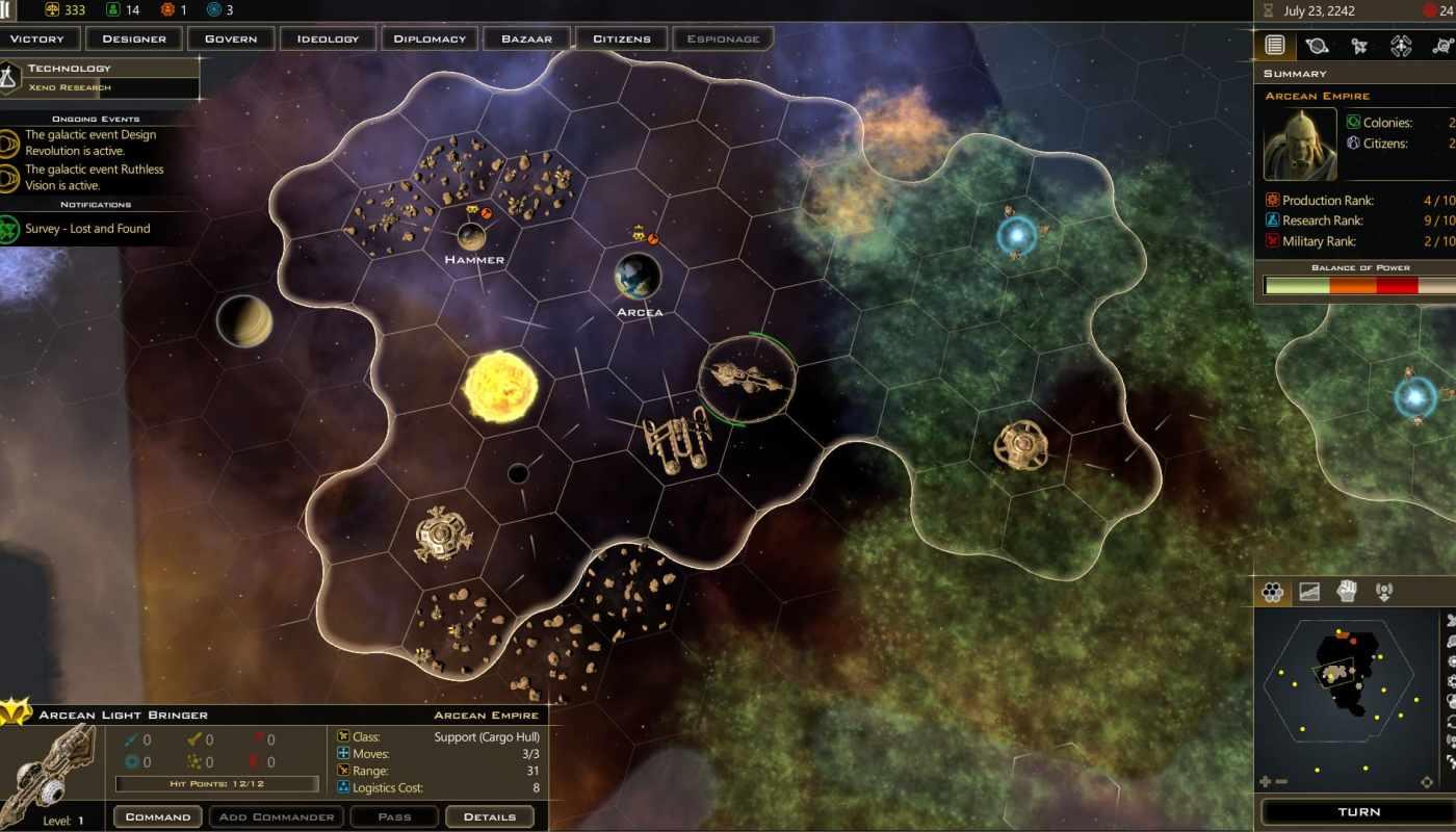 galactic civilizations III gratuit, jeu gratuit, epic games, misplay, bons plans, bon plan