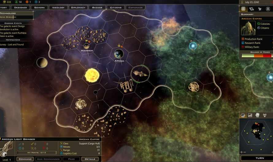 Bons Plans : Galactic Civilizations III gratuit sur l'Epic Store