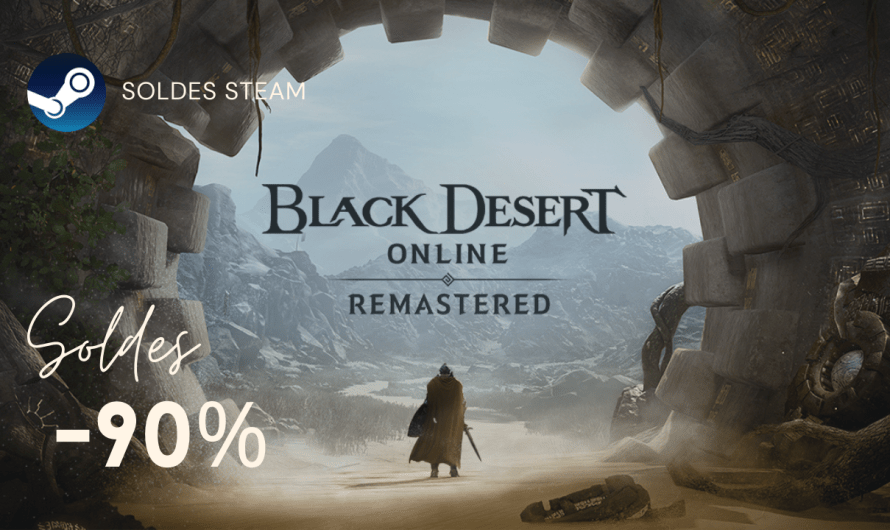 Bons Plans : Black Desert Online à -90%