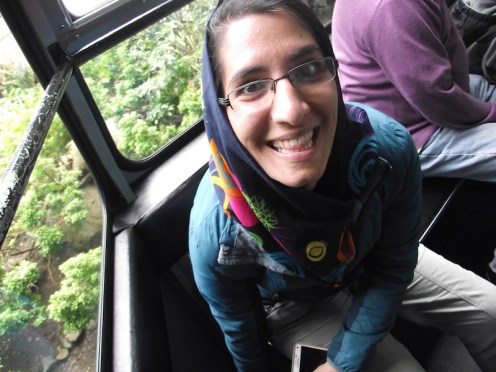 Grouse Mountain 2017: Sepideh is getting super excited
