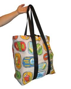 Market tote bag, foldable bag, Reusable Shopping Bag, Groceries bag. by misp (414) https://www.etsy.com/listing/216461128/