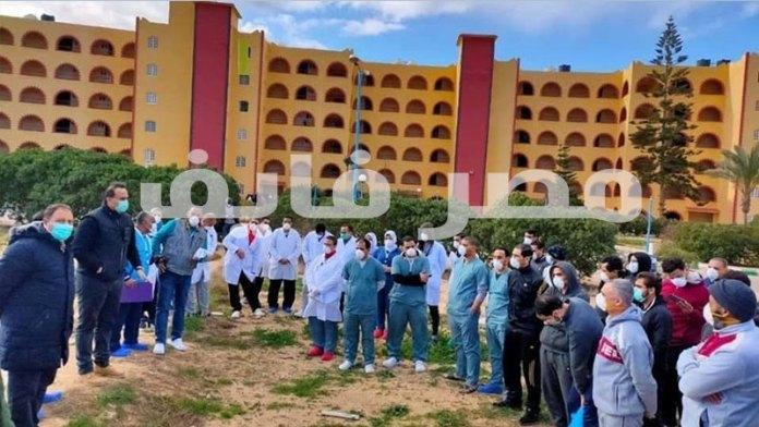 The Quarantine Hotel in Matrouh