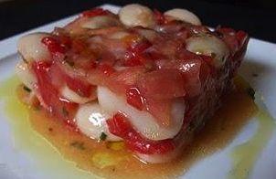 Ensalada Alubias con salmón