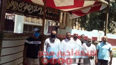 Photo of رجال أوقاف الرمل بالاسكندرية يدلون بأصواتهم فى انتخابات مجلس الشيوخ.