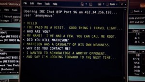 screen of the episode root cause