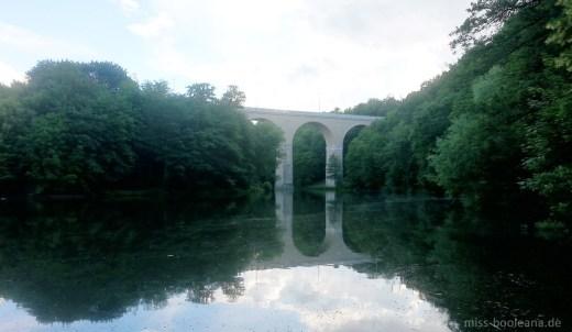 Viadukt in Görlitz - ich habe gelernt, dass man hier nicht schwimmen geht. Aber die Aussicht ist magisch.
