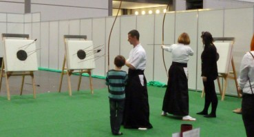 Kyuudou - traditionelles japanisches Bogenschießen