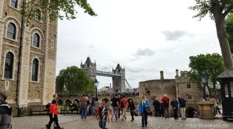 Auf dem Gelände des Tower of London