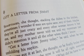 """aus Shirley Jacksons """"The Lottery and other stories"""""""