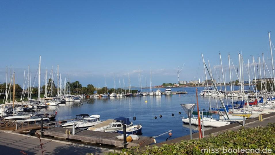 Yachthafen nähe kleine Meerjungfrau