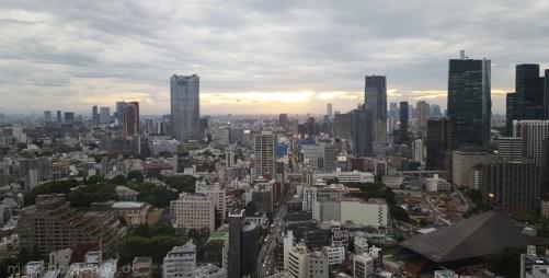 Blick vom Tokyo Tower