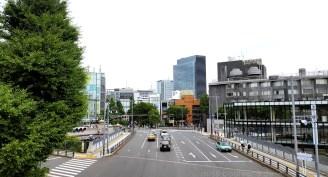 Blick vom Meiji-Schrein Richtung Harajuku