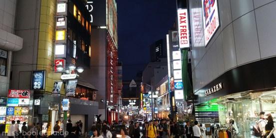 Shibuya bei Nacht