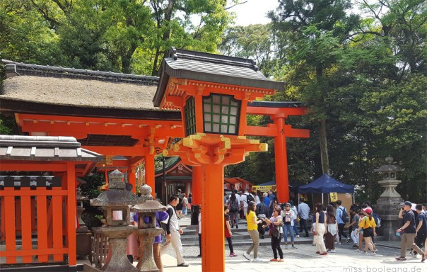 Auf Wiedersehen Fushimi Inari