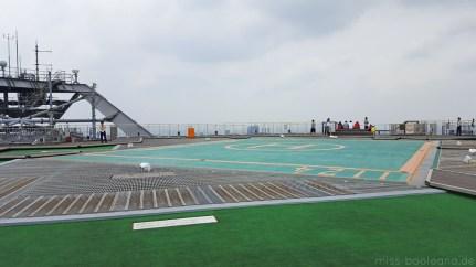 Aussichtsplattform/Hubschrauber-Landeplatz