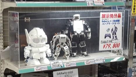 Roboter in Akibas Elektronikgeschäften