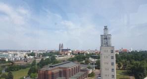 Blick über Magdeburg aus dem Riesenrad im Stadtpark