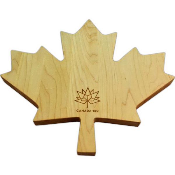 Maple leaf, custom cutting board