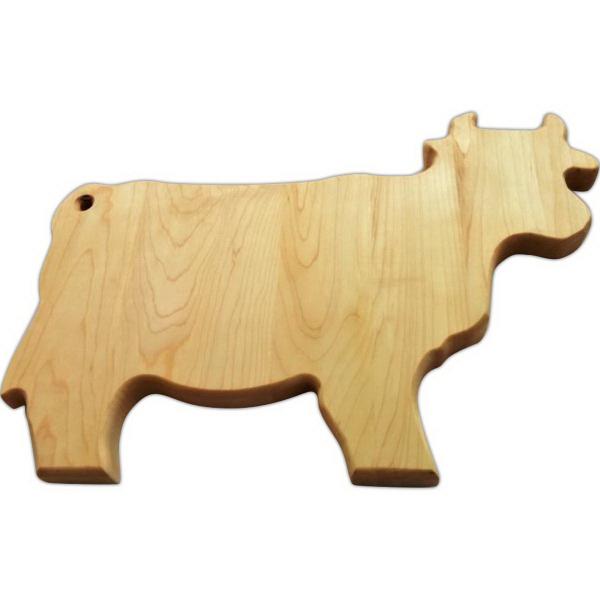 cow, custom cutting board