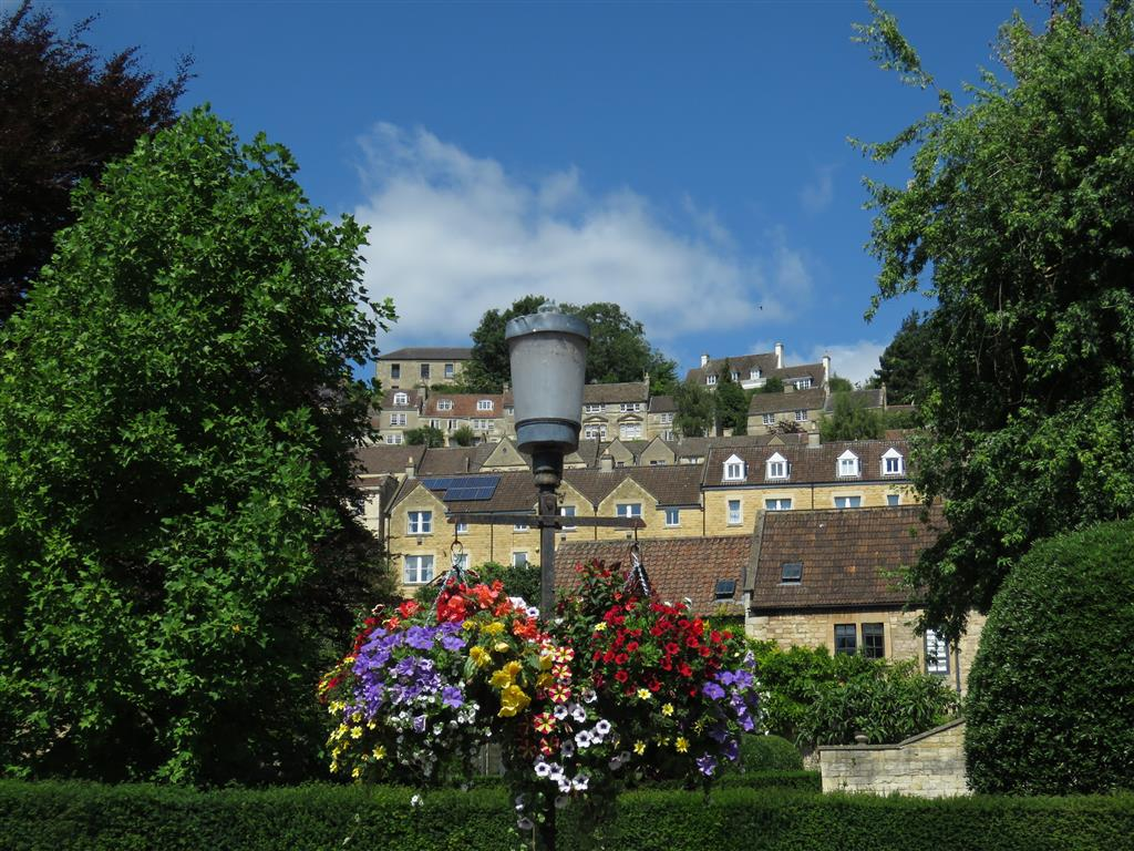 View of Bradford on Avon, Wiltshire