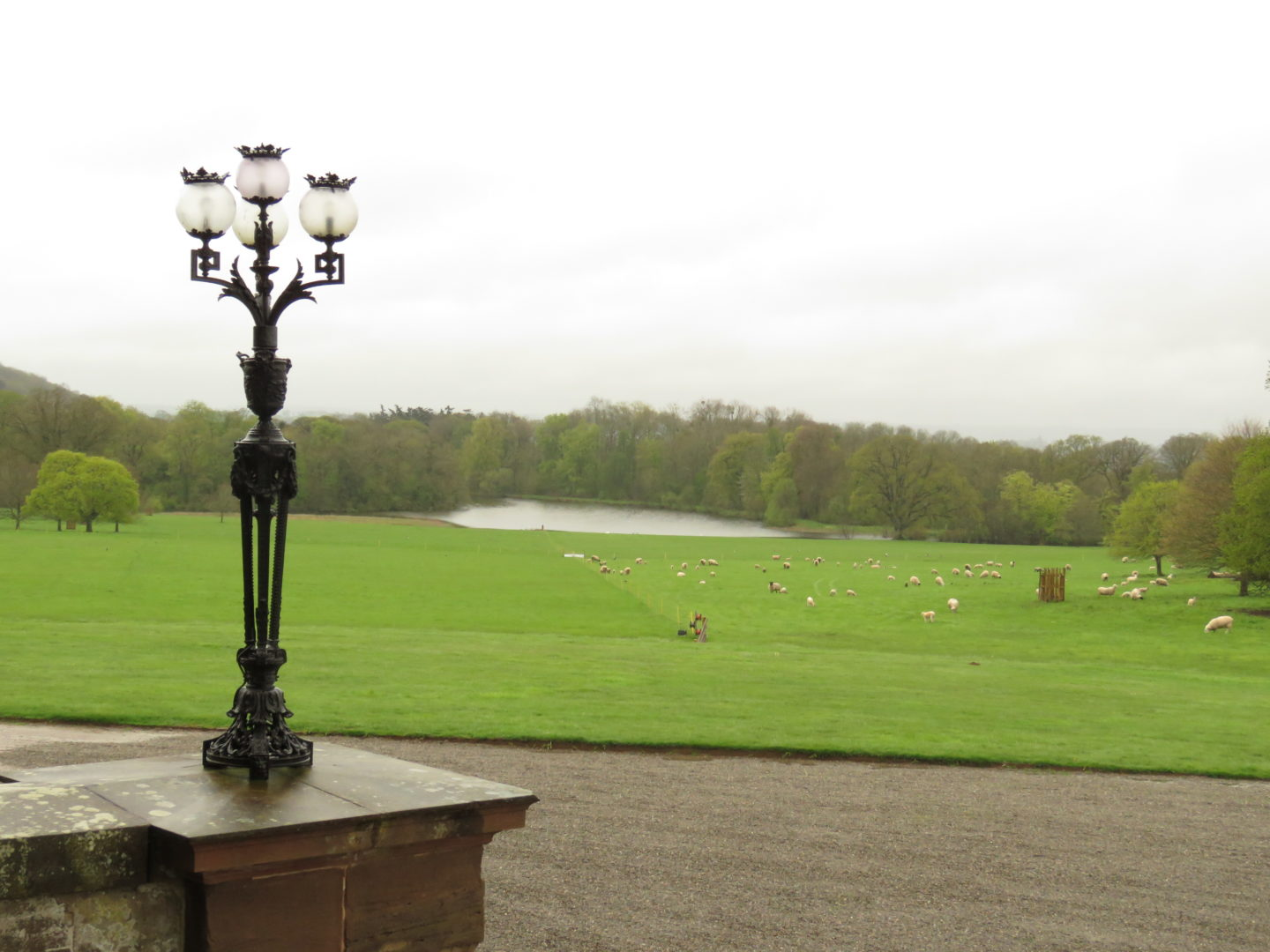 View from the National Trust's Berrington Hall