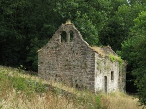 St. James Church, Lancaut, Wye Valley, Wales