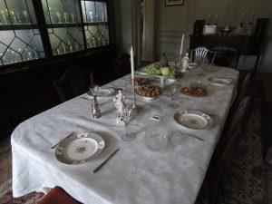 Dining room, Mompesson House, Salisbury