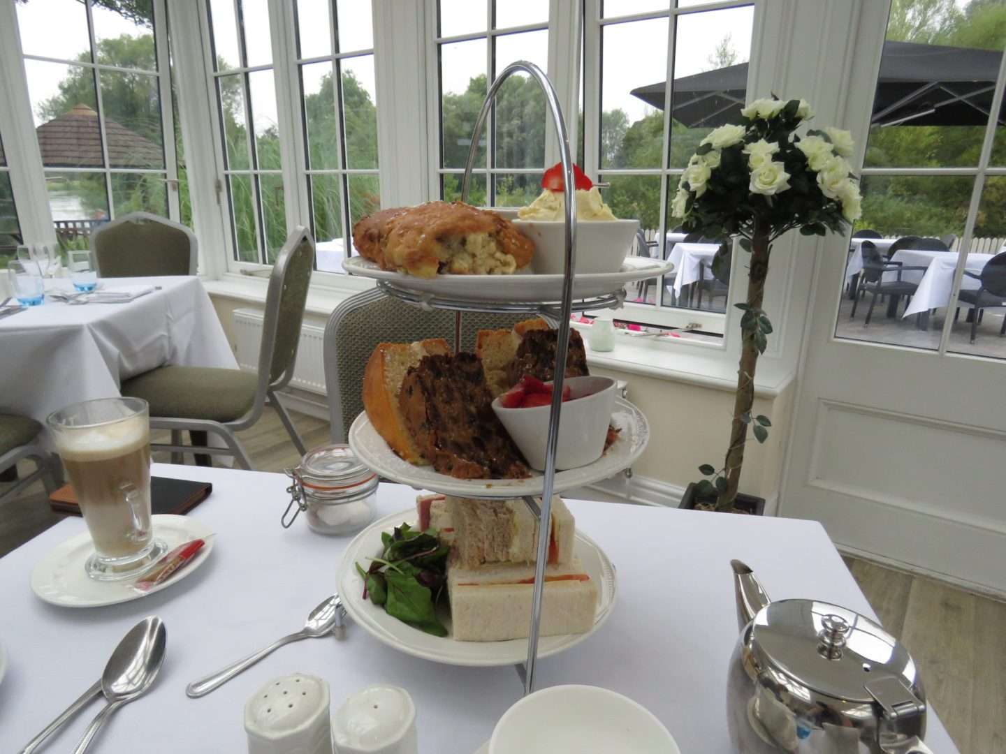 Afternoon tea at the Legacy Rose and Crown, Salisbury