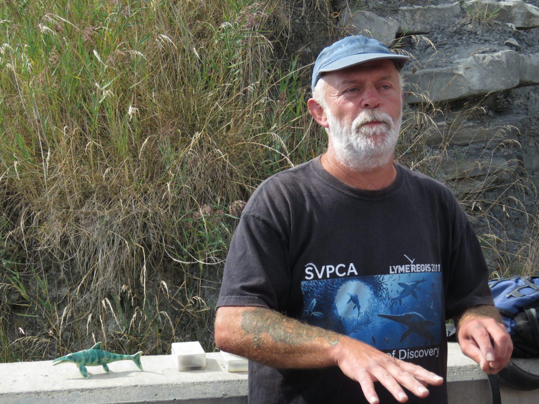 Paddy Howe, Fossil Workshop, Lyme Regis