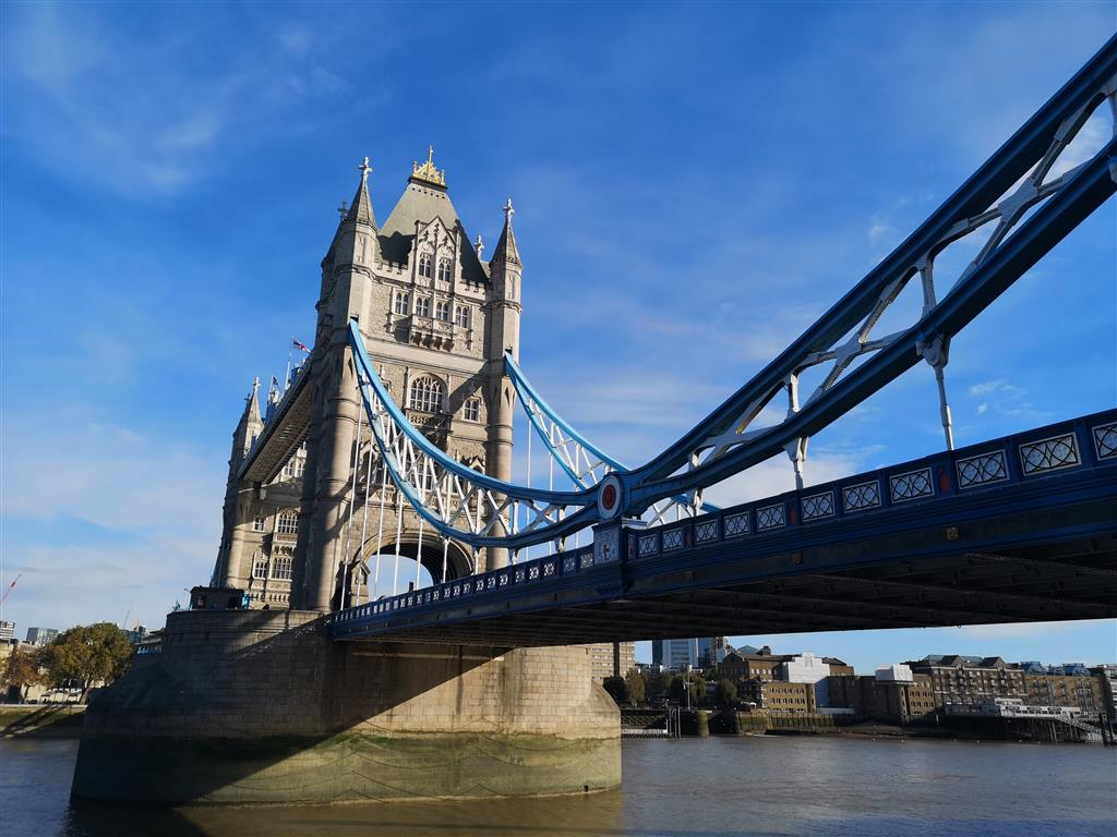 Visiting the Tower Bridge, London