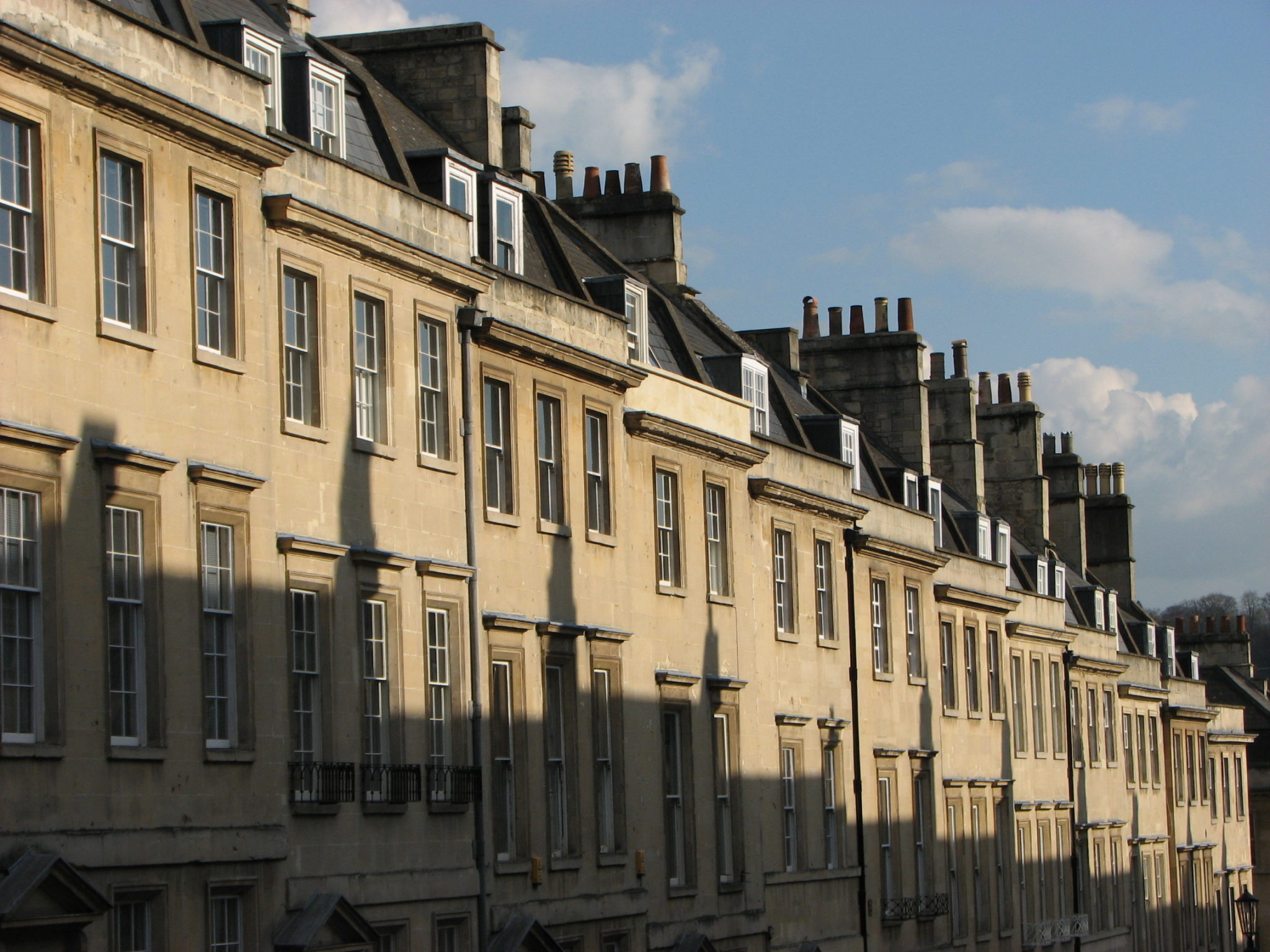 Architecture in Bath, England