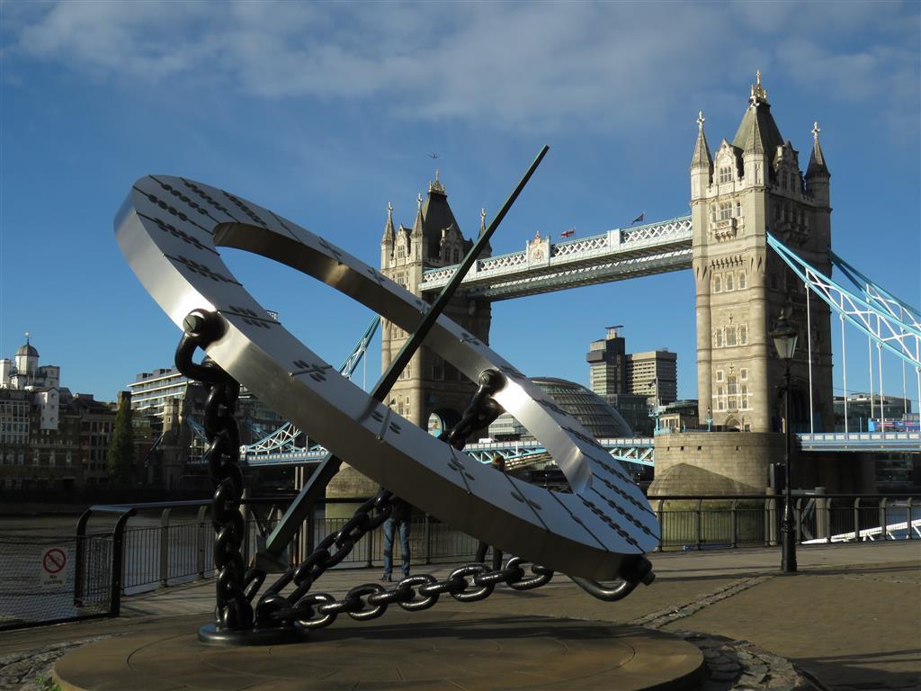 Visiting the Tower Bridge, London