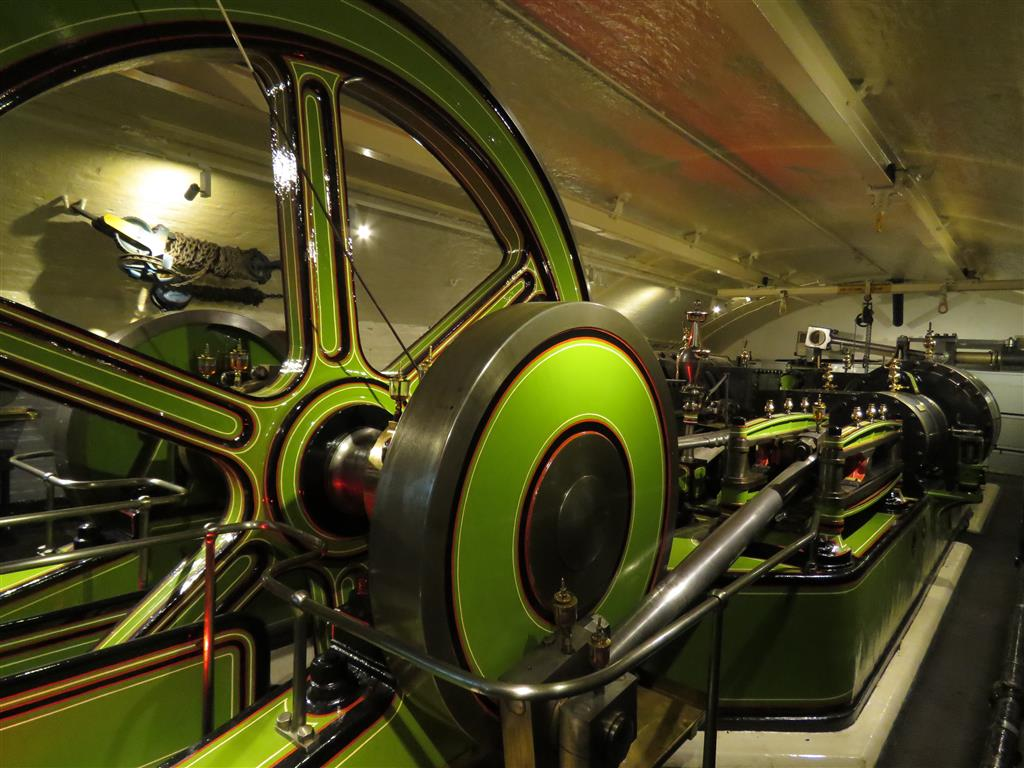 Visiting the Engine Room at the Tower Bridge, London