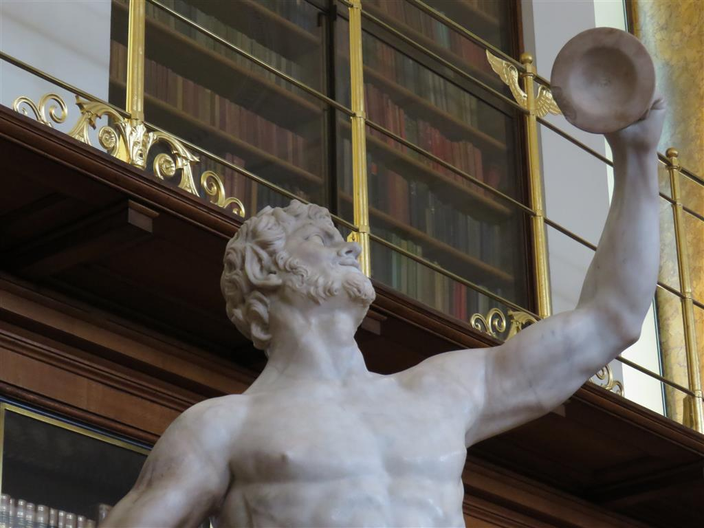 Roman statue, Enlightenment Gallery, British Museum, London