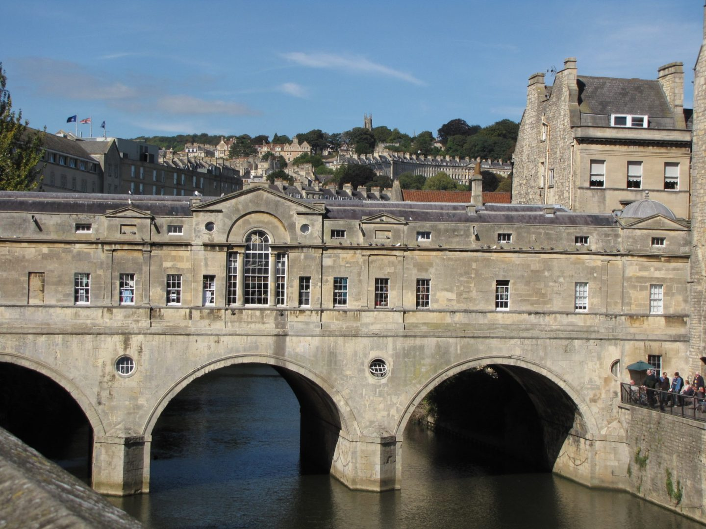 Pulteney Bridge Bath, England