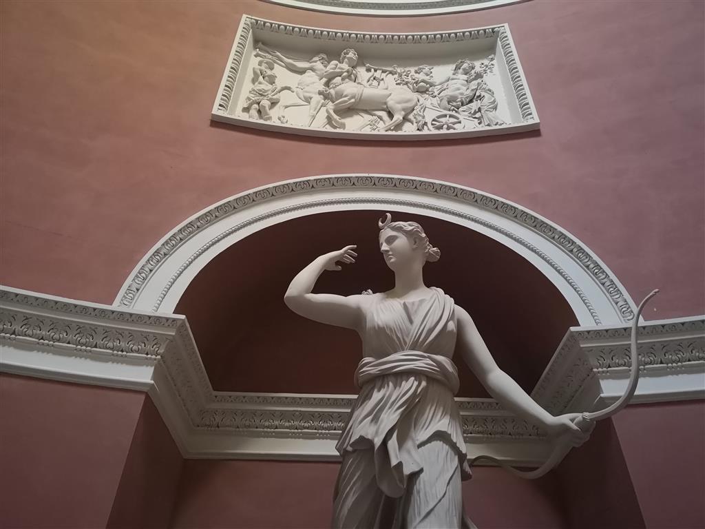Statue of Diana/Artemis at Stourhead Pantheon