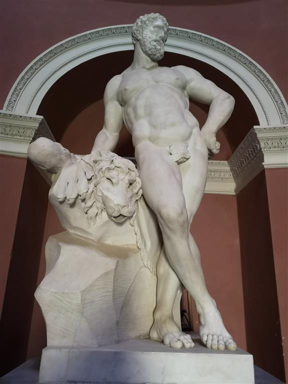 Statue of Hercules at Stourhead Pantheon