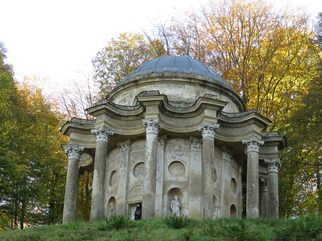 Temple of Apollo at National Trust's Stourhead