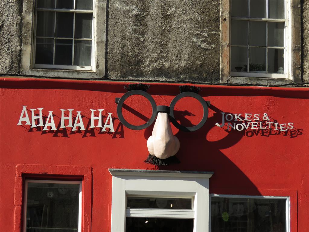 Joke Shop, Edinburgh