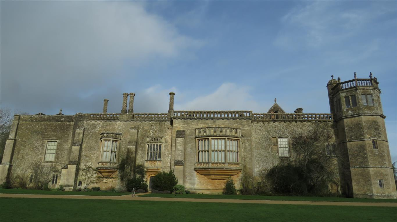 Visiting Lacock Abbey, Wiltshire