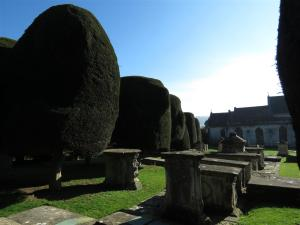 St. Mary's Churchyard, Painswick, Cotswolds