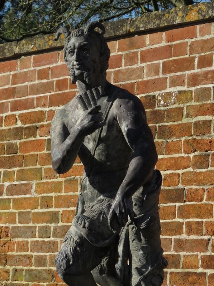 Pan Statue at Painswick Rococo Garden